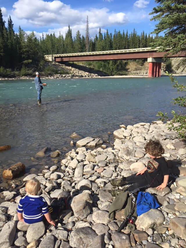 grande cache fishing