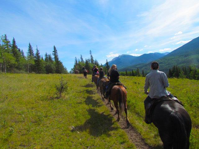 grande cache trail rides