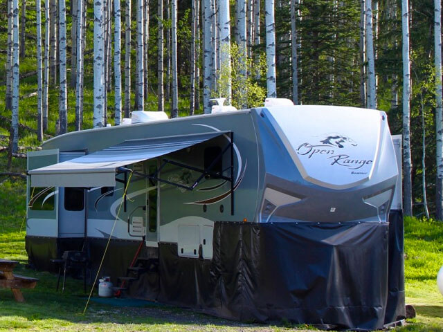 grande cache trailer / rv sites