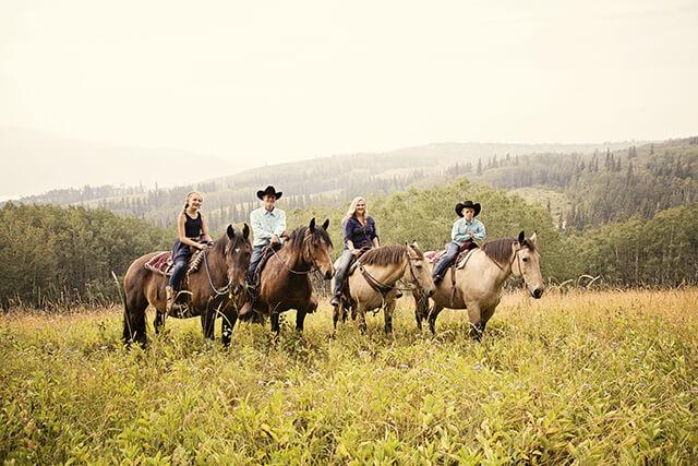 trail rides alberta