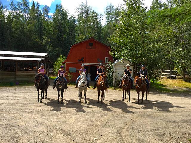 horse riding lessons grande cache